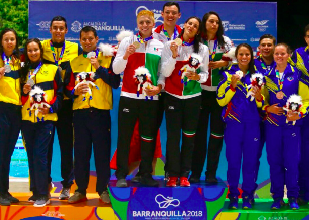 Mexico running away with medal count at 2018 Central American and Caribbean Games