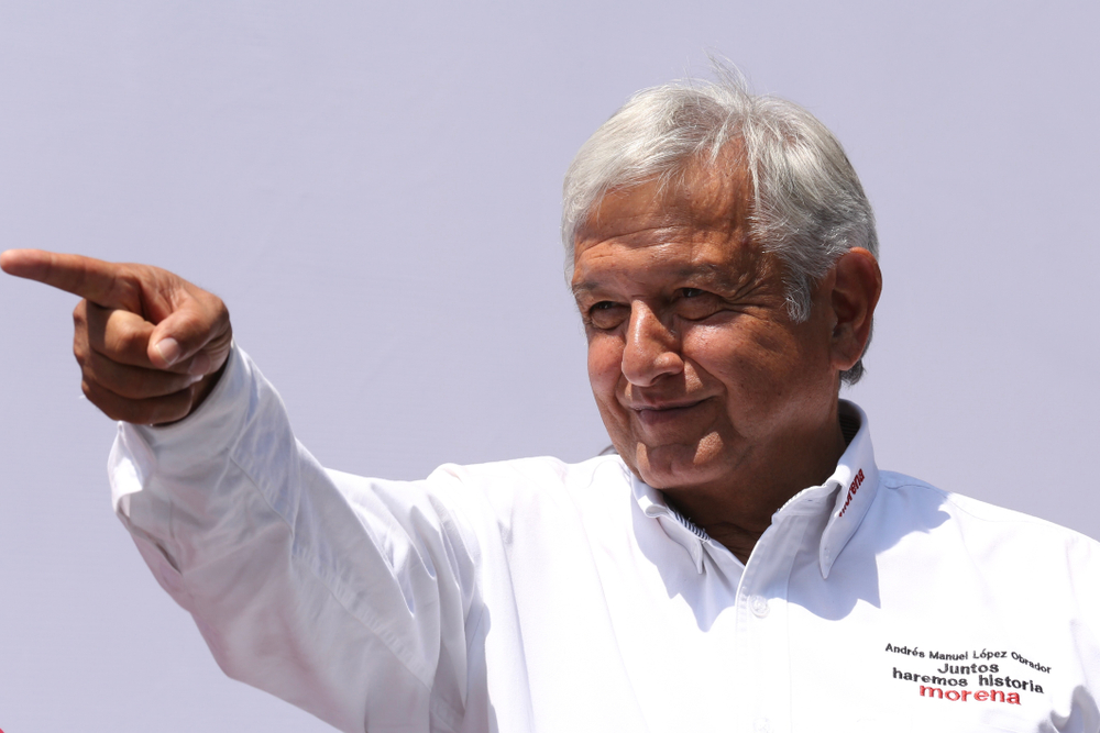 AMLO promises to turn around the country's current financial troubles