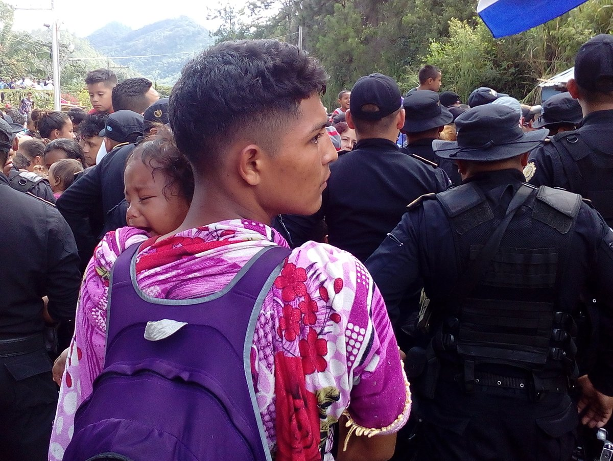 Migrant caravan could be stopped by Mexican authorities
