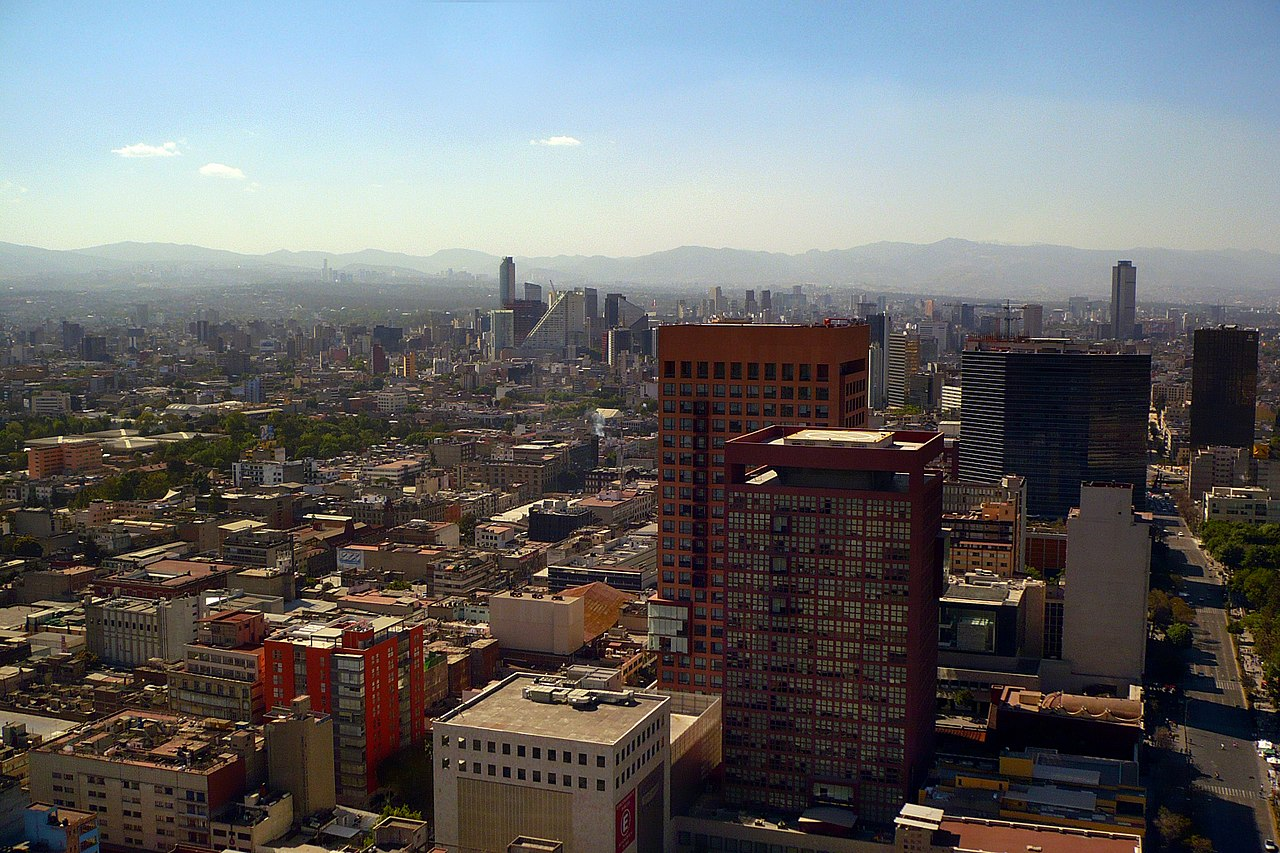 Soaring air pollution following New Year's Eve celebrations in Mexico City